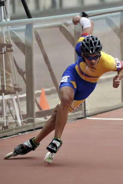 El colombiano Pedro Causil ganó la presea dorada en la final de l...
