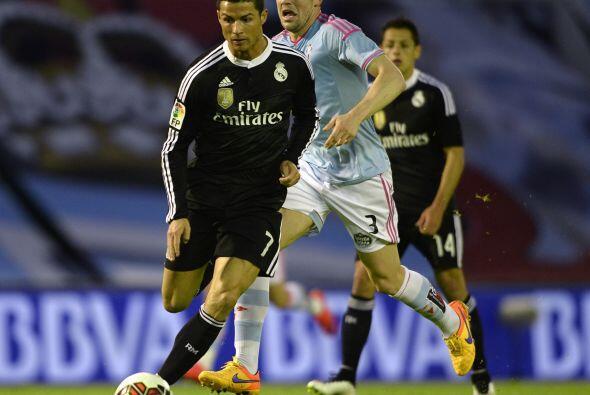Por su parte Cristiano Ronaldo intentó, pero en sta ocasión no pudo anot...