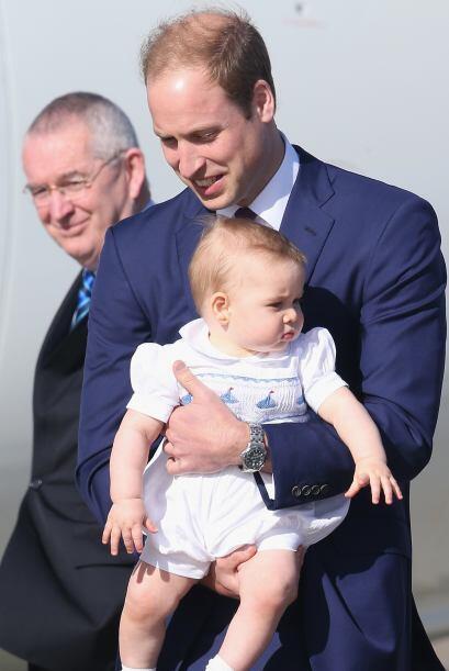 George tiene suerte de tener un padre tan amoroso.