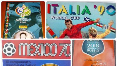 El álbum de estampas del Mundial, una tradición desde México 70