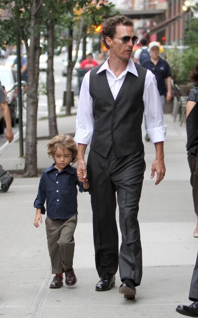 papás y sus hijos