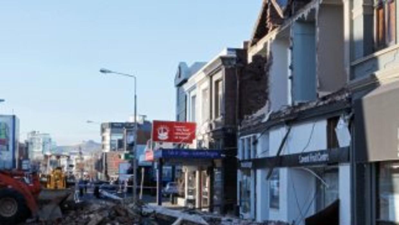 Las autoridades neozelandezas decretaron un toque de queda en la zona af...