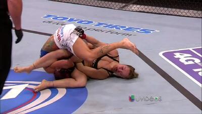UFC 157: Ronda Rousey luce invencible y derrota a Liz Carmouche en la 1r...