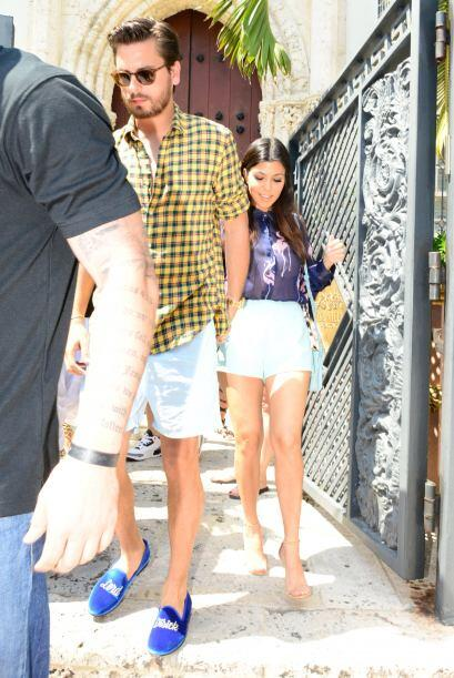 Kourtney y Scott son inseparables.  Mira aquí los videos m&aacute...