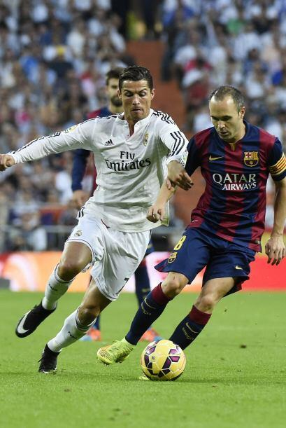 El Real Madrid se vio muy cómodo con el marcador a favor.