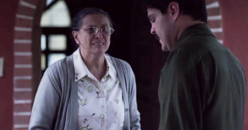 El Chapo y su mamá