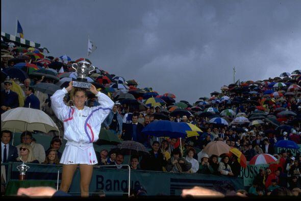 Ganadora de nueve torneos de Grand Slam, tres de ellos en Roland Garros,...