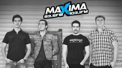 Máxima 93.5 & 103.1 FM trae boletos exclusivos para concierto exclusivo...