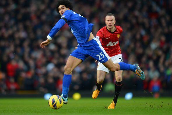 Manchester United recibió en Old Trafford al Everton en duelo de la fech...