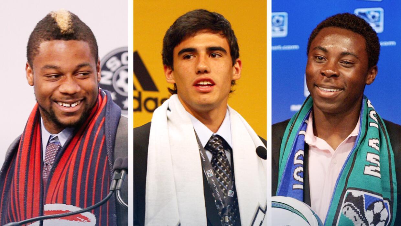Jugadores seleccionados en el SuperDraft de la MLS en el pasado