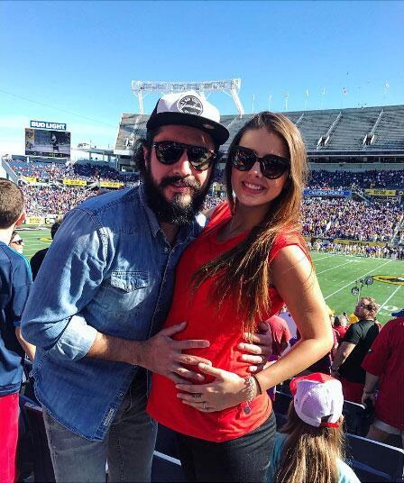 Michelle Renaud embarazo