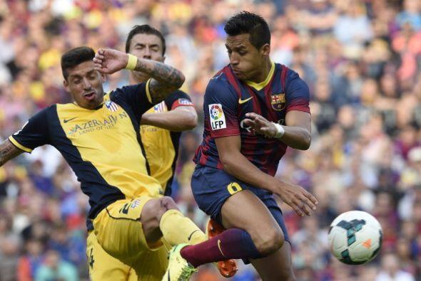 Al Atlético le valía un empate para ser campeón gracias a los tres punto...