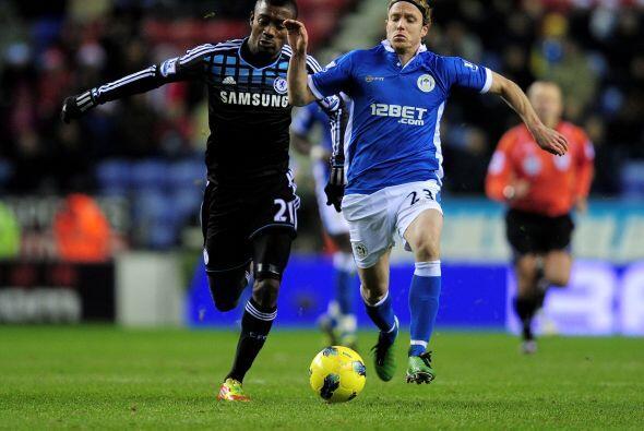 Con el resultado a su favor, Chelsea dominó el juego.