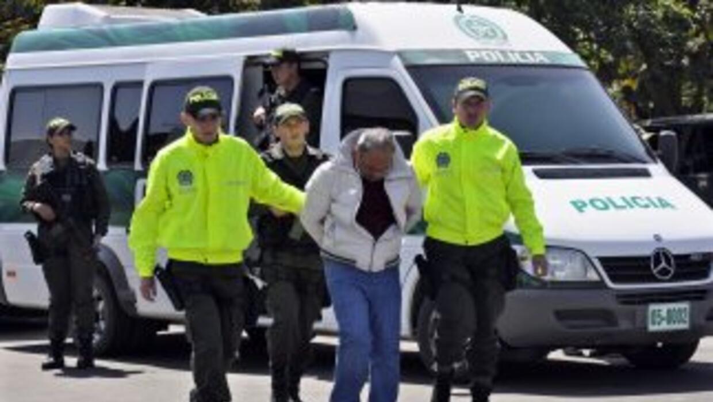 """La policía colombiana capturó a Carlos Arturo Córdoba alias """"El Garra"""" p..."""