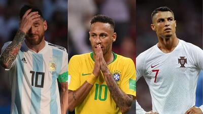Mejor pagados del mundo se quedaron con ganas de más en el Mundial