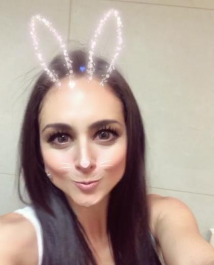 Wendy Braga es fan de los filtros de Snapchat. Checa sus mejores fotos a...