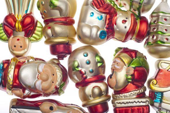 Por supuesto, los adornos navideños también necesitarán una manita de ga...
