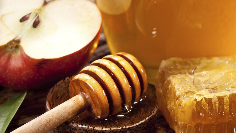 Miel y manzana