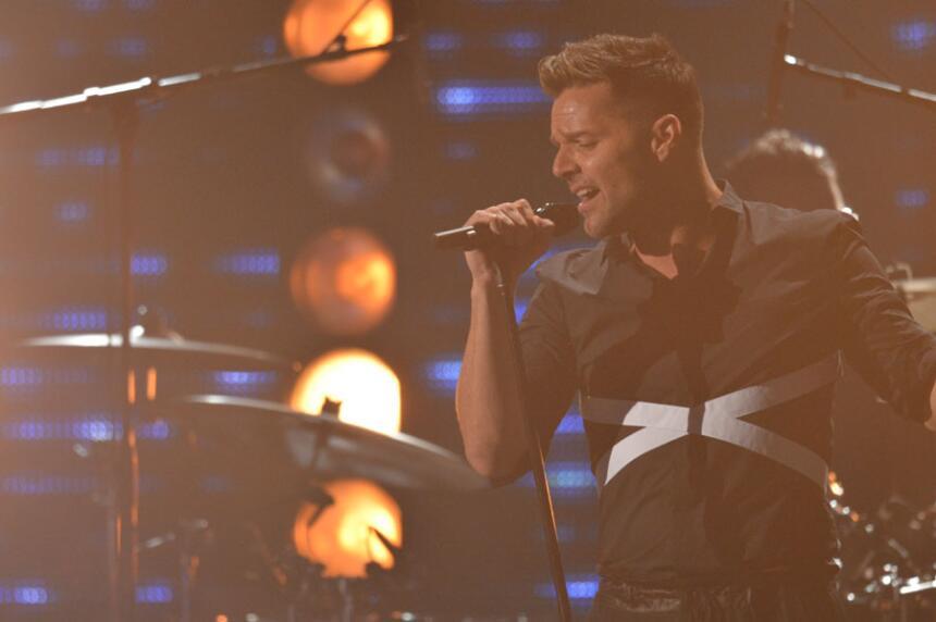 Ricky Martin en Premio Lo Nuestro.