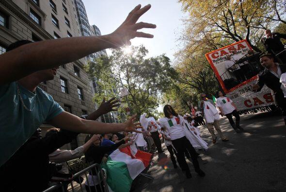 Los neoyorkinos celebraron disfrutaron a toda bomba del festival que org...