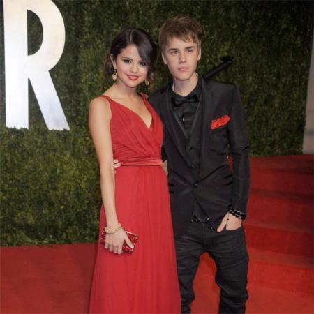Selena Gomez y Justin Bieber antes de concluir su relación