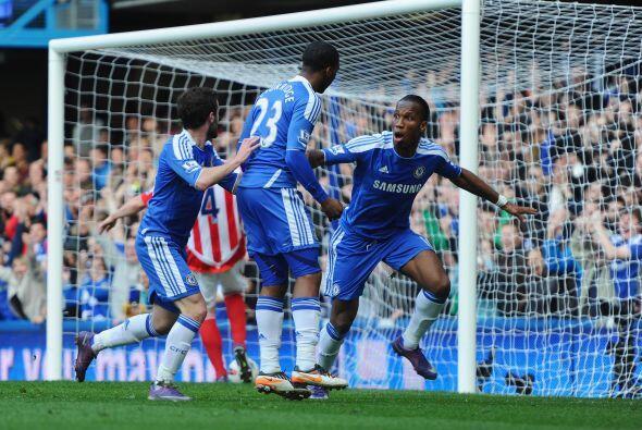 El único tanto del partido lo anotó el interminable Didier Drogba.