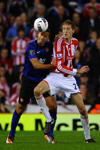 La jornada de Inglaterra se cerró con el partido entre el Stoke C...
