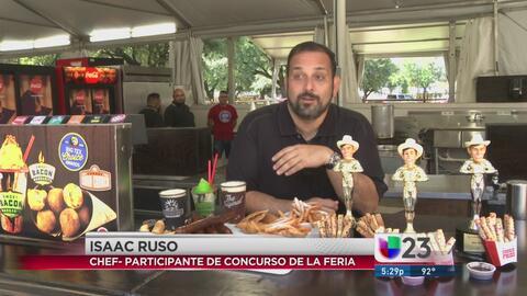 Cubano gana concurso de comida frita en Texas