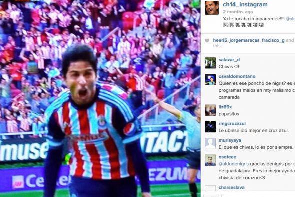 Cuando puede mira las transmisiones del fútbol mexicano y del equipo de...