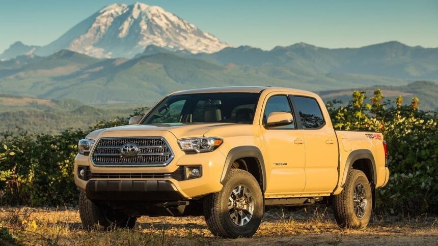 Estas son las trocas más vendidas hasta mayo de 2017 Toyota-Tacoma_TRD_O...