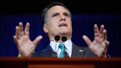 Santorum y Romney