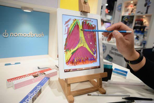 Nomad presentó un stylus en forma e brocha para pintar en el iPad.