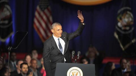 El último discurso completo de Barack Obama como presidente (en español)...