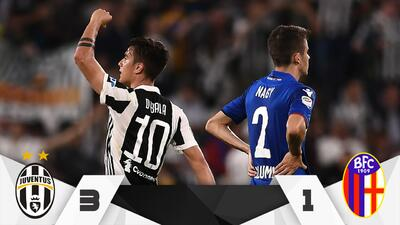 Juventus remonta al Bologna y acaricia el séptimo Scudetto seguido