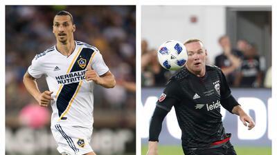 En paralelo: 'Ibra' y Rooney generan un potente impacto desde el inicio en sus experiencias en la MLS