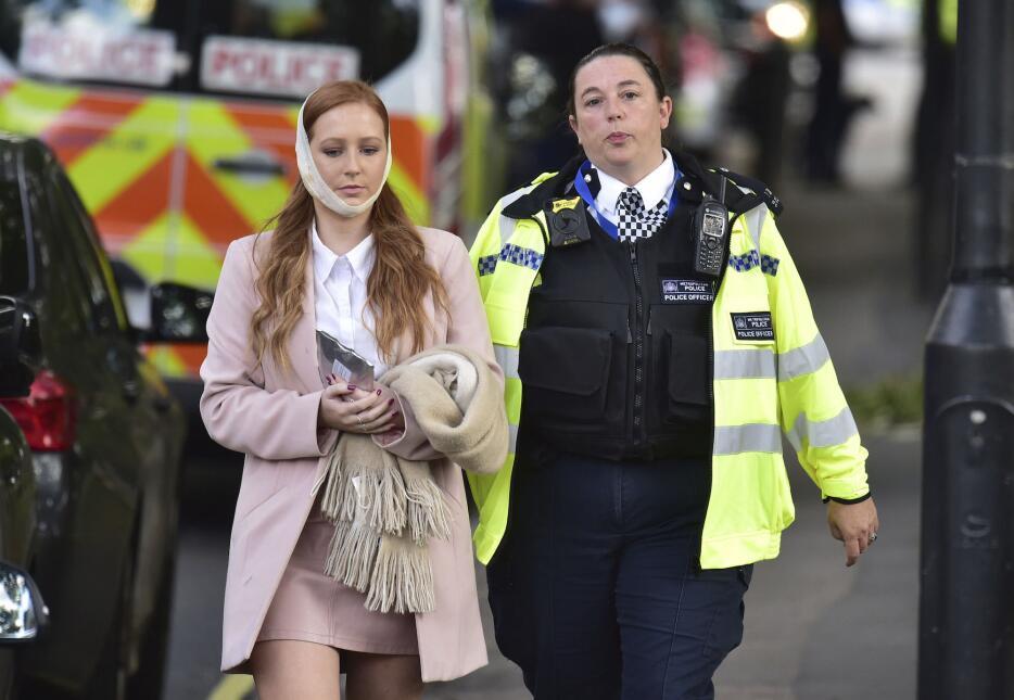 En fotos: Incidente terrorista en una estación del metro de Londres heri...