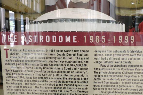 ¡El viejo Astrodome! Donde jugaron por décadas los Astros, antes de que...