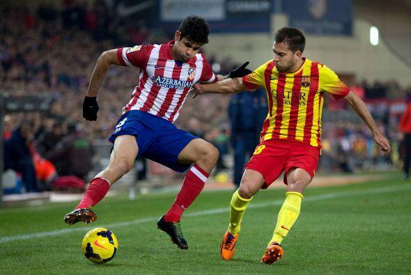 El Atlético fue más claro en el ataque pero le faltó el gol.