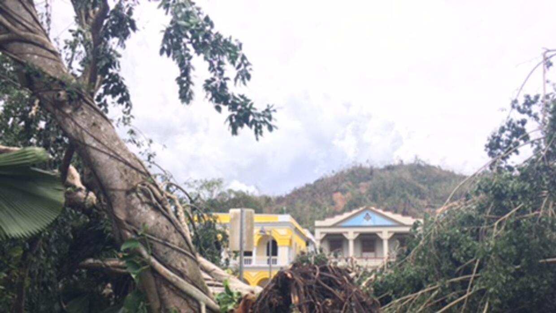 Utuado puerto rico despu s del paso del hurac n mar a - Puerto rico huracan maria ...