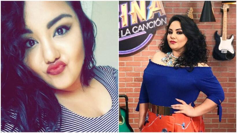 Sandra Padilla trajo de nuevo la moda de la 'duck face'.