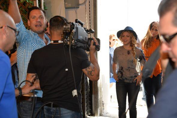 Este miércoles 9 de julio la cantante colombiana Shakira engalanó el pro...