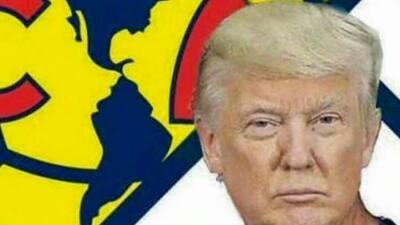 Memes se burlan de Trump y el América, comparan al mandatario con equipos de la Liga MX