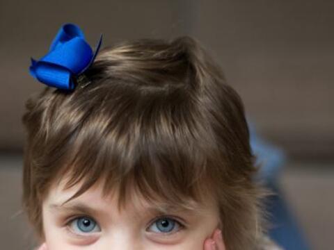 Esta pequeña niña de Sutton Coldfield en Reino Unido ha so...
