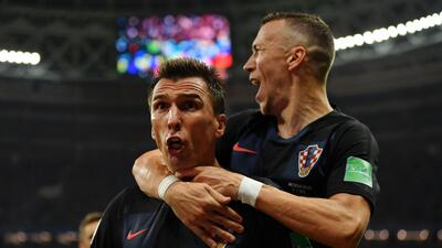 En fotos: Croacia clasificó a la final del Mundial Rusia 2018 tras vencer 2-1 a Inglaterra