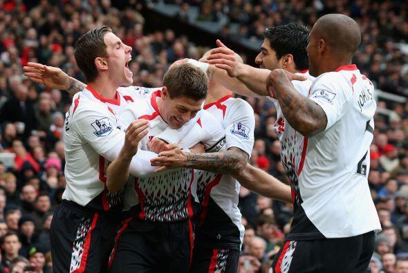 Los 'Reds' estaban dando un auténtico golpe de autoridad en Old Trafford.