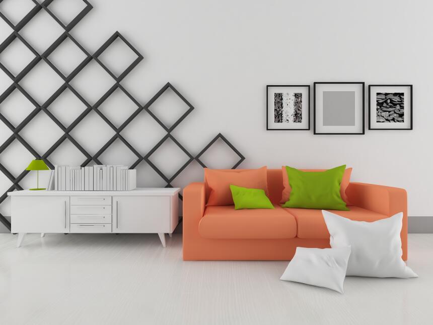 shutterstock univision paredes blancas decoracion - Decoracion Paredes