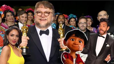 México reina en la edición más latina de los Oscar: Guillermo Del Toro, 'Coco' y hasta 'Bésame mucho'