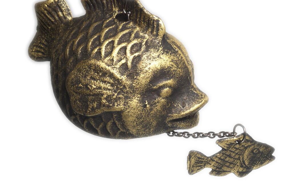 pez de metal