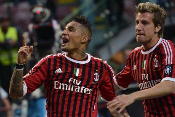 Cuando todo indicaba que el empate sin goles alejaría a los 'rossoneri',...