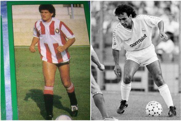 En la misma 88-89 Francisco Javier 'el Abuelo' Cruz probó suerte en Espa...